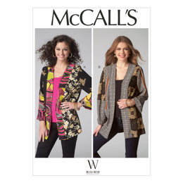 McCall's Misses' Jackets M7132 - Sewing Pattern
