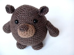 Amigurumi Phil the Groundhog