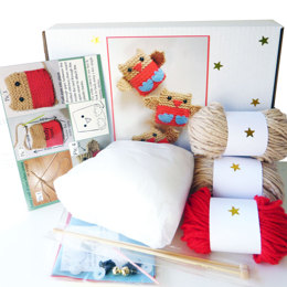 Jingly Robins Knitting Kit