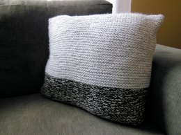 Garter Stitch Cushion Cover