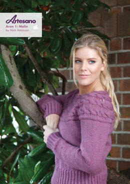 Malin Sweater in Artesano Aran
