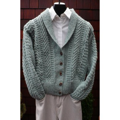 MS 203 Fisherman Shawl Collar