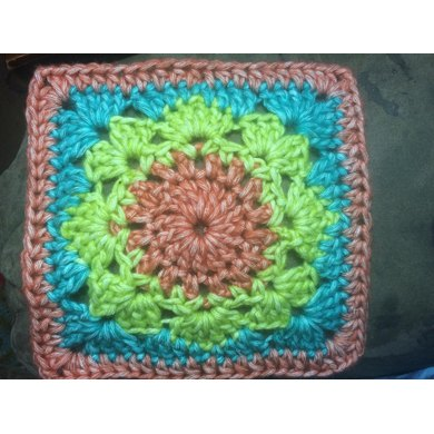 "Lovely Lace 6"" Afghan Square"