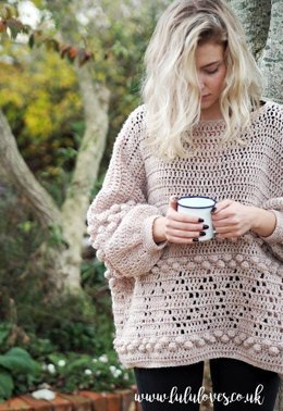 Diamonds and Bobbles Jumper