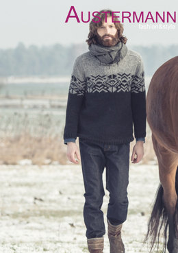 Men's Pullover in Austermann Siberia - 132019