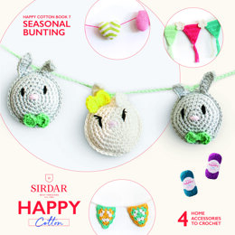Seasonal Bunting 1 by Sirdar