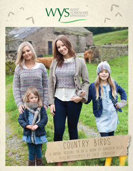 Country Birds by West Yorkshire Spinners