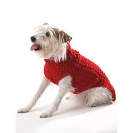 Crochet Dog Coat in Bernat Super Value