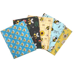 Craft Cotton Company So Buzzy Bees Fat Quarter Bundle