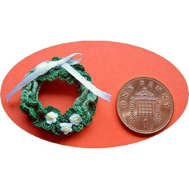 1:24th scale Christmas Wreath
