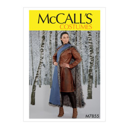 McCall's Misses' Costume M7855 - Sewing Pattern