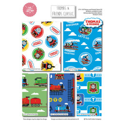 Craft Cotton Company Thomas and Friends Classic Fat Quarter Bundle - Multi