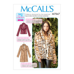 McCall's Misses' Coats M7847 - Sewing Pattern