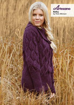 Bailey Sweater in Artesano Aran