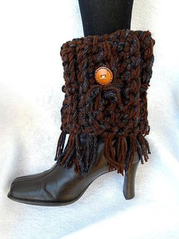 886 - Fringed Boot Cuffs