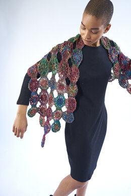 Rue Shawl in Berroco Sesame - Downloadable PDF