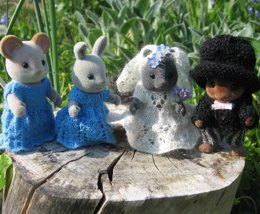 Wedding for Sylvanian Families and Calico Critters