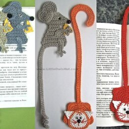024 Cat and Mouse Bookmarks Amigurumi Ravelry