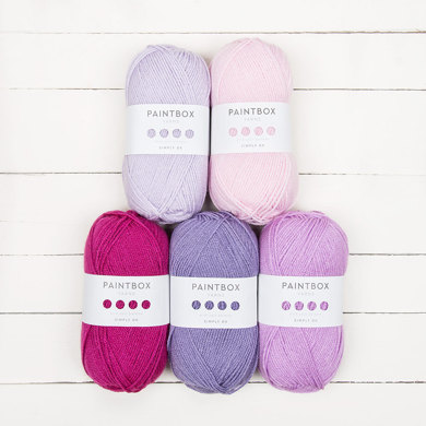 Paintbox Yarns Bella Coco Ombre Pack - Paintbox Yarns Simply DK 5er Farbset