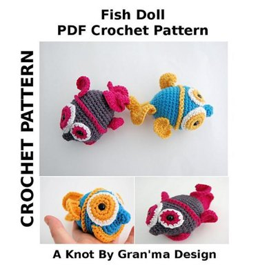 Fish Doll PDF Crochet Pattern
