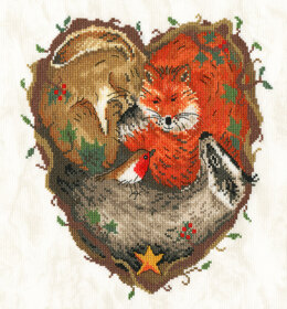 Bothy Threads Heart of the Woodland Cross Stitch Kit