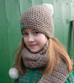 Hat, Beanie and Scarves in Rico Creative Glühwürmchen - 285 - Downloadable PDF