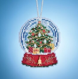 Mill Hill Charmed Snow Globes - Christmas Tree Globe