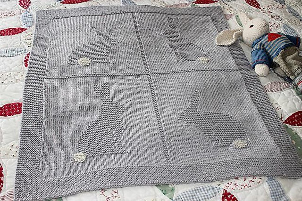 Baby Blanket Knitting Patterns | LoveKnitting