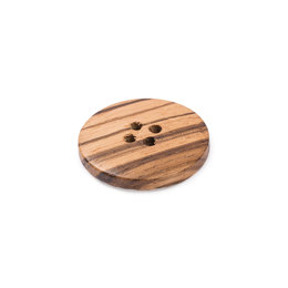 Trimits Olive Wood 4-Hole Button