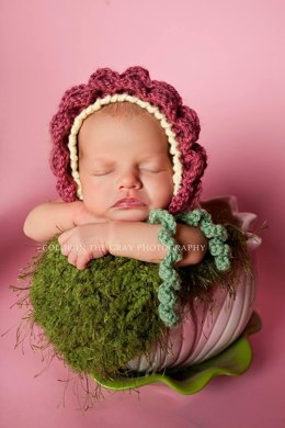 Flower Baby Bonnet