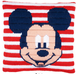 Vervaco Disney - Mickey Mouse Long Stitch Cushion Kit - Multi