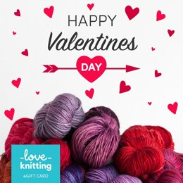 LoveKnitting eGift Card - Valentine's Day 3