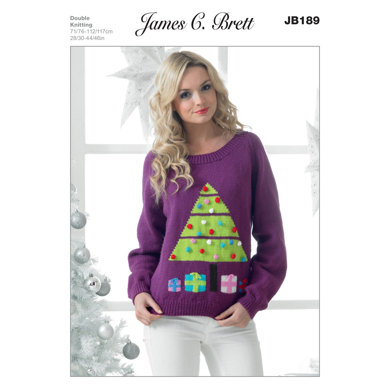 Sweater in James C. Brett Top Value DK - JB189