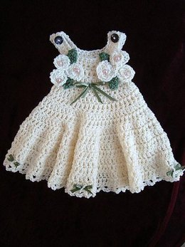 539 Girls dress, sundress, jumper, newborn to 12 yrs.