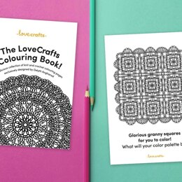 LoveCrafts Colouring Book