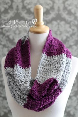 Easy Striped Cowl 351