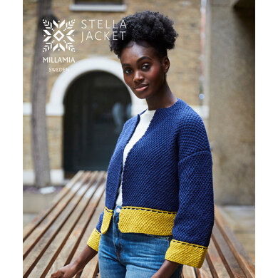 Stella Jacket in MillaMia Naturally Soft Aran - Downloadable PDF