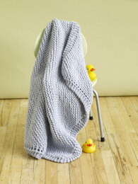 Cuddle Tight Baby Blanket in Lion Brand Wool-Ease Thick & Quick - 80717B