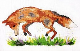 Creative World of Crafts Foxing Around Cross Stitch Kit - Multi