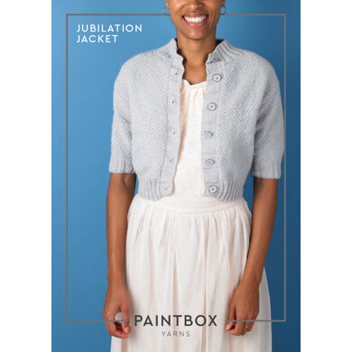 Jubilation Jacket - Free Jacket Knitting Pattern For Women : Jacket Knitting Pattern in Paintbox Yarns DK Yarn