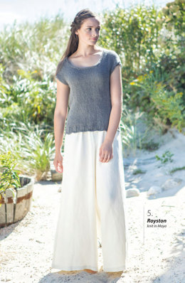 Royston Top in Berroco Maya - Downloadable PDF