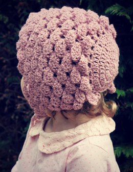 Rose Petal Baby Bonnet