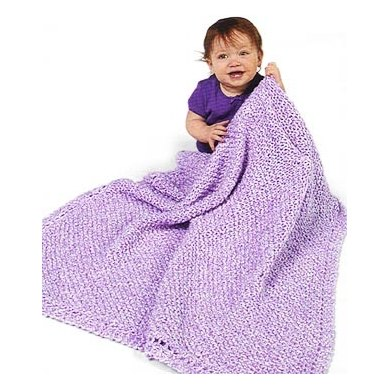 Crochet Diagonal Pattern Baby Blanket in Lion Brand Homespun Knitting Patte...