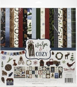 "Echo Park Paper Echo Park Collection Kit 12""X12"" - Warm & Cozy"