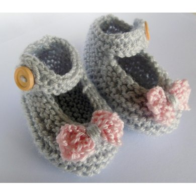 Mary Jane Baby Shoes Knitting Pattern By Sarah Taylor