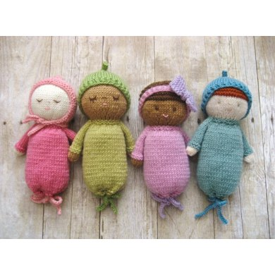 Knit Baby Doll Pattern Set Knitting Pattern By Amy Gaines