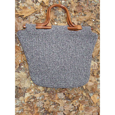 Recycled Cotton Bag in Knit One Crochet Too 2nd Time Cotton - 1324