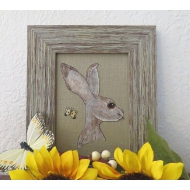 Designs by Lisa The Hare and the Butterfly - DBL215 -  Leaflet