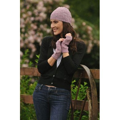 Spring Leaves Hat & Mitts