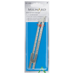 Milward Measure Sewing Knitting with Scale in centimetres and in inches